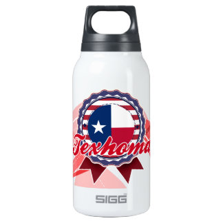 Texhoma, TX 10 Oz Insulated SIGG Thermos Water Bottle