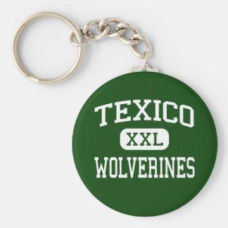 Texico - carcayúes - alto - Texico New México Llaveros