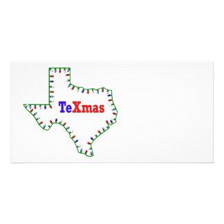 TeXmas Lights Photo Card