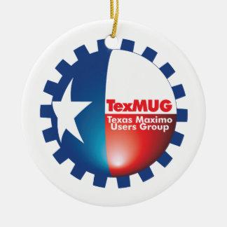 TexMUG Logo items Ceramic Ornament