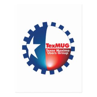 TexMUG Logo items Postcard
