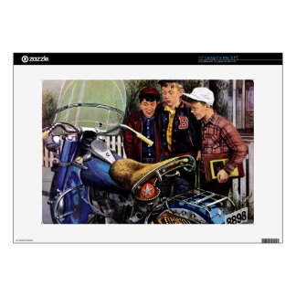 """Tex's Motorcycle 15"""" Laptop Skins"""
