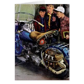 Tex's Motorcycle Card