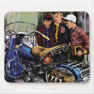 Tex's Motorcycle Mouse Pad