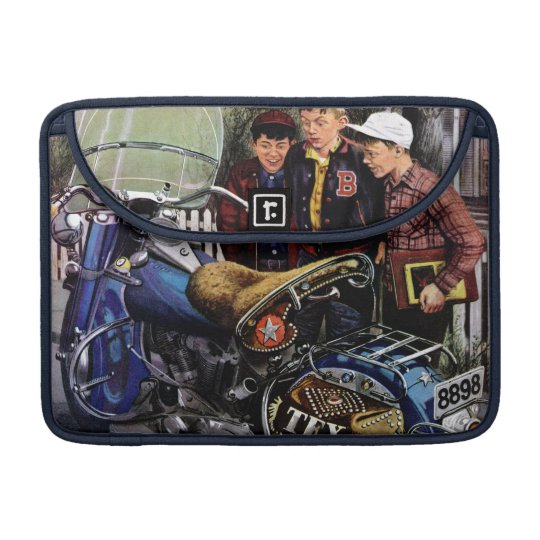 Tex's Motorcycle Sleeve For MacBook Pro