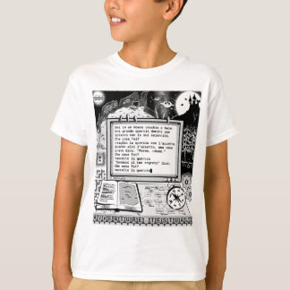 "Text Adventures (A) ""Albero Parlante"" T-Shirt"