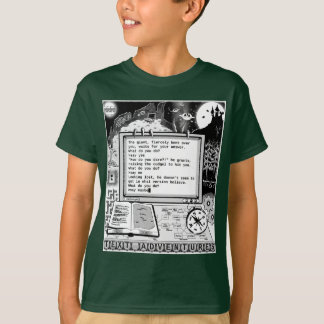"""Text Adventures (A) """"Confused Giant"""" T-Shirt"""