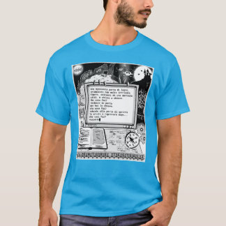 "Text Adventures (A) ""Porta Parlante"" T-Shirt"