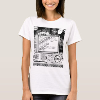 "Text Adventures (A) ""Porta Parlante"" T-Shirt"