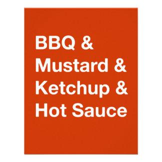 Text based BBQ invitation