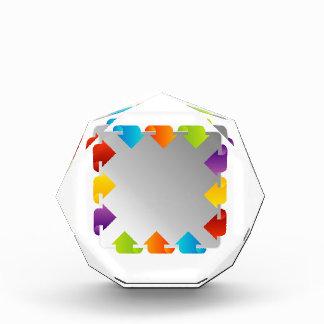 Text box acrylic award
