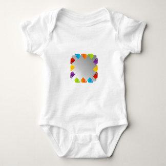 Text box baby bodysuit