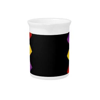 Text box beverage pitcher