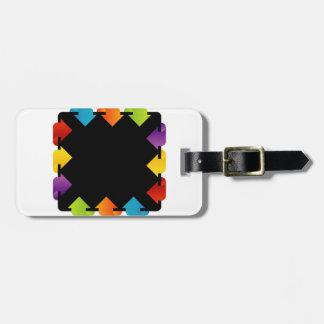 Text box luggage tag