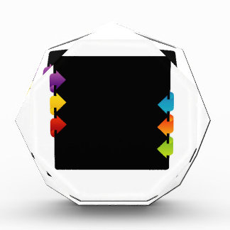Text box with arrows award