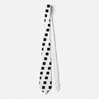 Text box with arrows neck tie