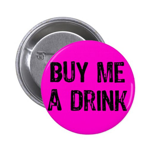 Text- Buy Me A Drink- Black -Pink Button