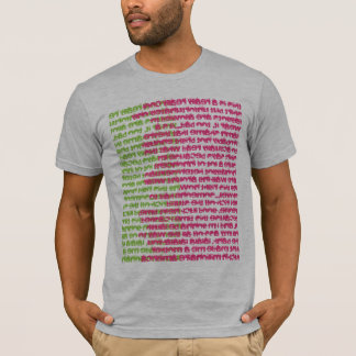 Text Collage tee