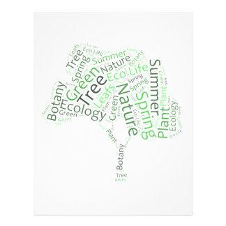 Text Design – ECO Tree Flyer
