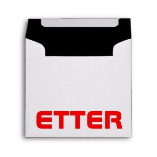 text design envelope