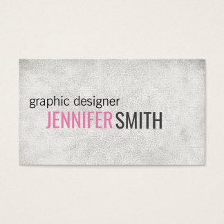 Text Design // Grunge Business Card