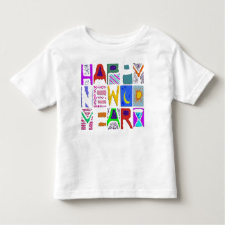 "Text Design ""Happy New Year"" Toddler T-shirt"