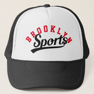 Text Design: SPORTS black + your own text & ideas Trucker Hat