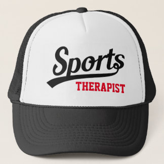 Text Design: SPORTS white + your own Professional Trucker Hat