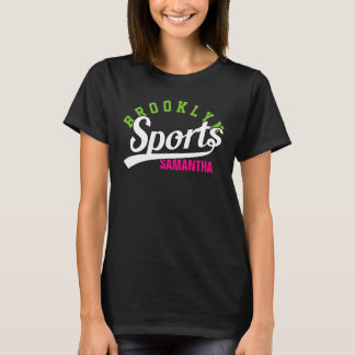 Text Design: SPORTS white + your own text & ideas T-Shirt