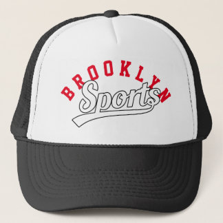 Text Design: SPORTS white + your own text & ideas Trucker Hat