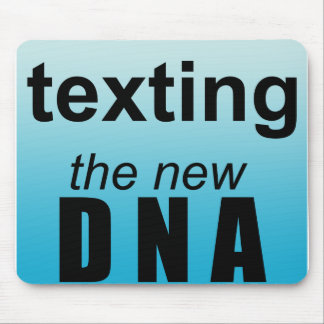 Text DNA Mouse Pad
