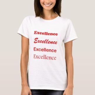 Text EXCELLENCE Motivation Leadership Coach Mentor T-Shirt