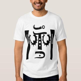 text face tee shirt