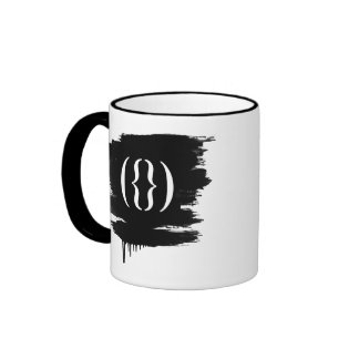 TEXT FLOWER - WHITE - png Coffee Mugs