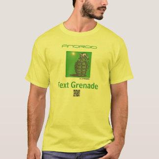 Text Grenade App T-Shirt