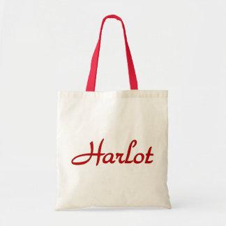 Text Harlot Tote Bag