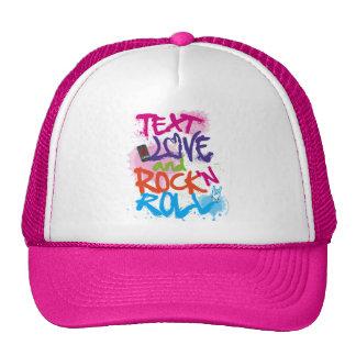 Text, Love & Rock 'n Roll Trucker Hat