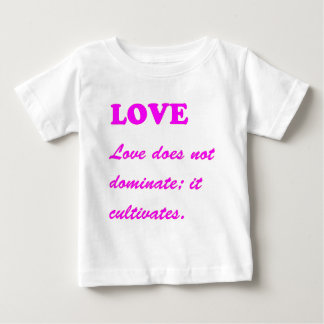 text LOVE Romance Sensual Pure Hearts LOWPRICES Baby T-Shirt