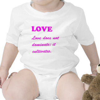 text LOVE Romance Sensual Pure Hearts LOWPRICES Baby Bodysuits