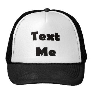 Text Me Mesh Hat