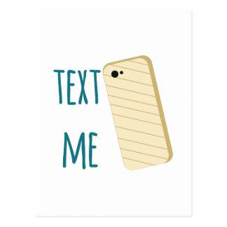 Text Me Postcards