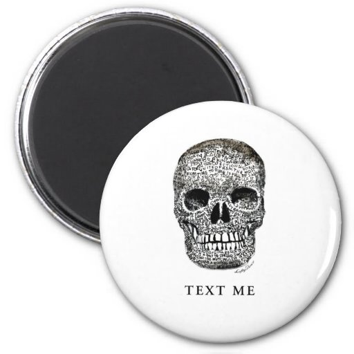 TEXT ME REFRIGERATOR MAGNETS