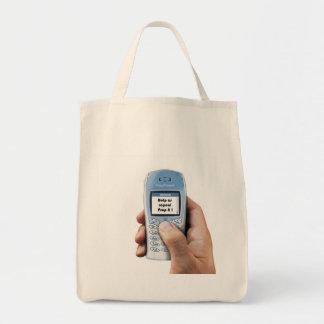 text message/repeal prop 8 canvas bag