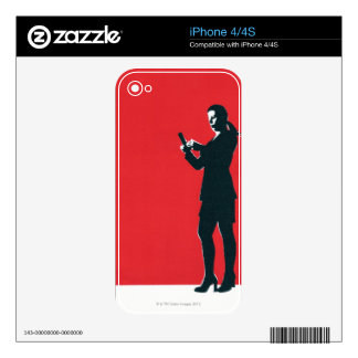 Text Message iPhone 4 Skins