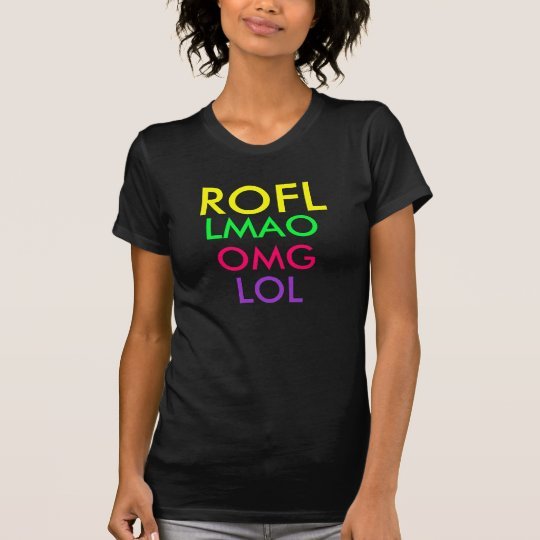Text messageing shirt