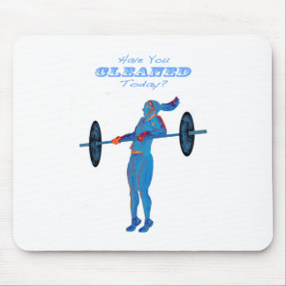 ****text on image 2014have you cleaned light blue mouse pad