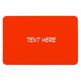 Text Only Rectangular Photo Magnet