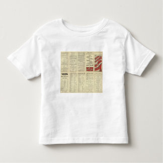 Text Page Atlantic Coast Line T-shirts