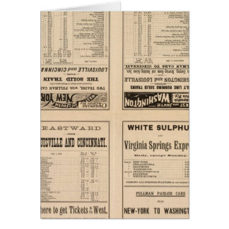Text Page Chesapeake and Ohio Ry Cards