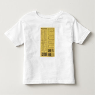 Text Page Michigan Central Railroad Toddler T-shirt